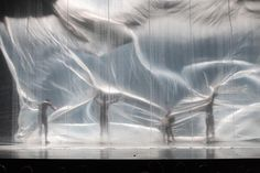 Xóchitl González Quintanilla Ex-Stasis  I LOVE working with fabric... <3 More.. sheer, full curtains, partials, that the dancers can interact with.