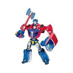 Transformers Animted Transformers Animated Deluxe Cybertronian Mode Optimus Prime -- You can get additional details at the image link.Note:It is affiliate link to Amazon.