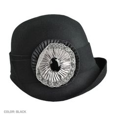 Black Cloche