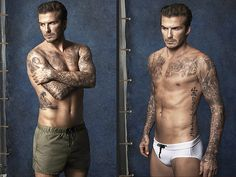 David Beckham Launches Swimwear Line for H&M (aka an Excuse to Look at David Beckham in Tiny Pants) | People.com