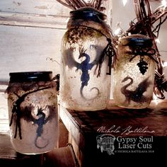 Rotten Smelly Dragon Jars with Tutorial - Nichola Battilana