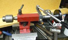 Mini lathe tailstock