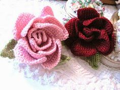 Sandy Crochets: Free Flower Crochet Patterns