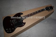 2014 Hot selling G-L Guitar SG400 Black Pickguards 6 Strings Electric Guitar free shipping Factory Price