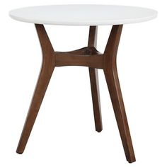 Two-Tone Mid Century Modern Accent Table - Threshold™ : Target
