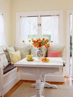 Kitchen with Breakfast Nook Designs | Breakfast Nooks: Kitchen Bench Seats / Banquettes