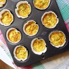 Cheesy Baked Quinoa and Zucchini Cups – The Nutrition Guru and The Chef