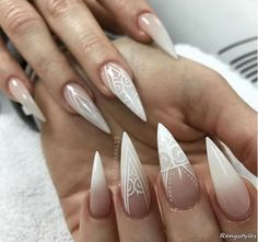 Nail Art Designs For Wedding Tutorial - nail art : fascinating wedding nail art gorgeous nails perfect for Acrylic Nail Salon, Acrylic Dip Nails, Sculptured Acrylic Nails, Nail Places Near Me, Nail Shop Near Me, Acrylic Nail Courses, Nail Supply Store, Bad Nails, Dope Nails