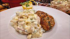 Potato Salad, Cauliflower, Potatoes, Chicken, Vegetables, Ethnic Recipes, Youtube, Food, Cauliflowers