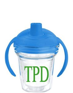 Monogrammed Tervis Sippy Cup - Blue