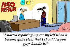 Auto repair jokes. www.crocestrans.com