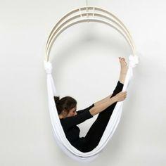 möbel design zen circus yoga chair stuhl übungen ausdehnen