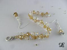 Bracelet et B.O d'Or et de Lumière