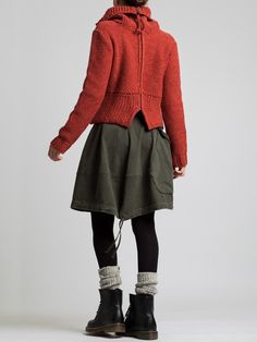 Regenerated Wool Sweater by LURDES BERGADA