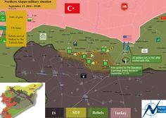 #NewsMap: N #Aleppo military situation - September 19, 2016 #Syria #IS #EuphratesShield HD: newsmap.pl/news/polnocne-…