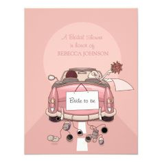 ==>Discount          	Pink Getaway Car - Bridal Shower invitation           	Pink Getaway Car - Bridal Shower invitation today price drop and special promotion. Get The best buyReview          	Pink Getaway Car - Bridal Shower invitation Review from Associated Store with this Deal...Cleck Hot Deals >>> http://www.zazzle.com/pink_getaway_car_bridal_shower_invitation-161943163648882552?rf=238627982471231924&zbar=1&tc=terrest