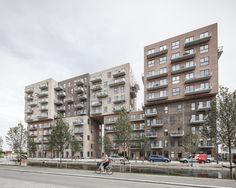 Würfelspiele - Wohnhochhaus von ADEPT in Kopenhagen