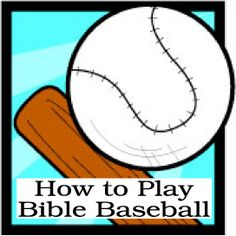 Post-Bible-Baseball-pic: How to Play Bible Baseball: A Super Bible Activity for Kids. We played this at Traveling Day Camp and it was a great way to teach more about scripture and to do a fun activity at the same time. Bible Activities For Kids, Bible Study For Kids, Bible Lessons For Kids, Church Activities, Kids Bible, Kids Church Games, Children's Bible, Bible Verses, Sunday School Projects
