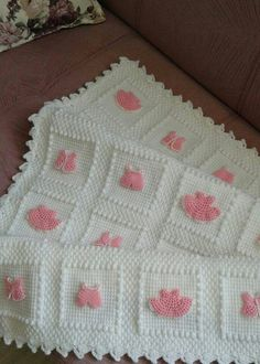 """Discover thousands of i Baby Afghan Crochet Patterns, Crochet Quilt, Crochet Flower Patterns, Tunisian Crochet, Baby Blanket Crochet, Crochet Squares, Crochet Yarn, Knitting Patterns, Manta Crochet"