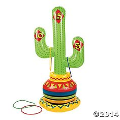 Inflatable Fiesta Ring Toss Game- Do we need games for older kids?