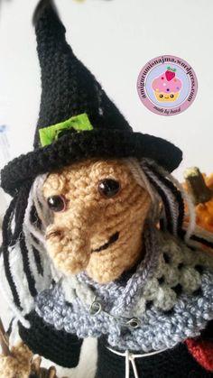 witch amigurumi crochet bruja ganchillo-21