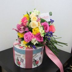The most colorful of them all Flowers Delivered, Colorful, Rose, Instagram Posts, Pink, Roses