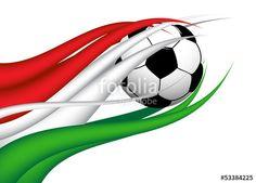 Vektor: flagge_ungarn_ball