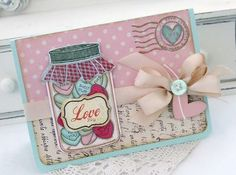I love this Melissa Phillips card, so sweet!