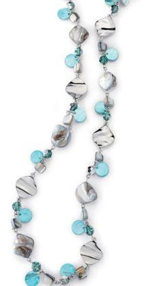 Ocean air by lia Sophia This necklace is one of everyones favorites!! liasophia.com/twl