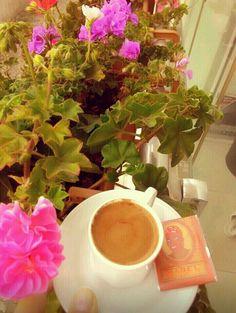 #turkish #coffee #mabel #flower ☕