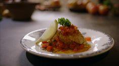 Het hoofdgerecht brandade van makreel komt uit het programma Koken met van Boven. Lees hier het hele recept en maak zelf heerlijke brandade van makreel.