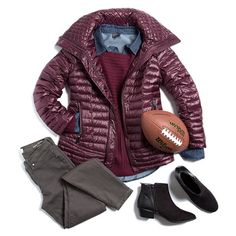 "stitchfix: ""Cheer on your team in style with cozy layers in warm fall shades. Visit our blog for more outfit ideas for the football season! (link in profile)"""