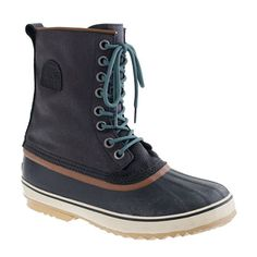 Men's Sorel duck boot. Good for Shelby in all this awful Kentucky weather.
