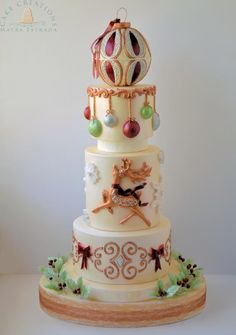 I Love Christmas by Cake Creations by ME - Mayra Estrada