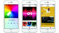 Apple is entering the streaming music service with its new Apple Music app. What is Apple Music, exactly? Think of SoundCloud, Spotify (or Pandora) and online radio stations all combined in one sweet package. And it Ipod Touch, New Ios, Ios 8, Eminem, Karaoke, Apple Tv, Radios, Keynote, Iphone 8