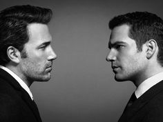 Ben Affleck and Henry Cavill