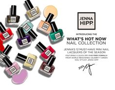 HATCHBEAUTY is proud to present the Jenna Hipp collection - available at Costco and Costco.com starting June 2013.