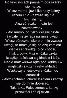 Panna młoda skarży się matce: Funny Quotes, Funny Memes, Jokes, Weekend Humor, Smile Everyday, Some Fun, Haha, Funny Pictures, Sayings