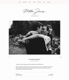 Nikko Portfolio Pro theme gallery layout - slider.