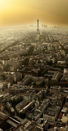 Paris from Montparnasse Tower.