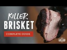 GUIDE to Smoking a KILLER BRISKET - YouTube Bbq Brisket, Smoking, Bbq Ideas, Beef, Mustard Seed, Ranch, Youtube, Recipes, Hot