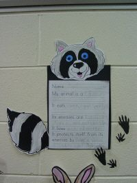 Animal Reports, very cute! Could put on bulletin boards too :)