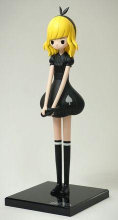 Alice - black dress je1 Alice (Delos Nim) by Jin s... | Trampt Library