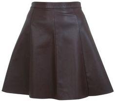 #missselfridge.com        #Skirt                    #Leather #Effect #Skater #Skirt                     Leather Effect Skater Skirt                                                   http://www.seapai.com/product.aspx?PID=1064437