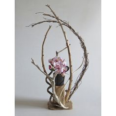 流木アート 花台  A0760 高さ77.5cm  レア一点物 インテリア ディスプレィに最適