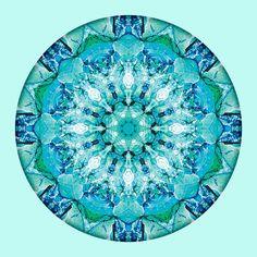 """Mandalas of Deep Trust"" #3 - from New World Creations"