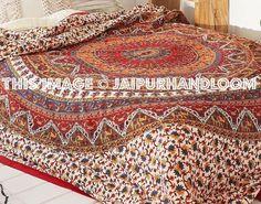 Hippie Trippy Mandala Tapestry Bohemian Mandala tapestries wall hanging