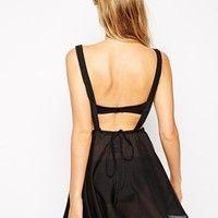 ASOS Dungaree Beach Dress