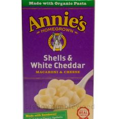 Annie's Shells & White Cheddar Macaroni & Cheese organic pasta snack side #Annie's Shells & #WhiteCheddar #Macaroni & Cheese #organic #pasta #snack side instant #food #foodie #kids #meal  instant