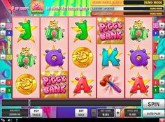 Piggy Bank #Spielautomat von #PlaynGO Software Entwickler! Knacke die 3 Progressive Jackpots im Spiel!